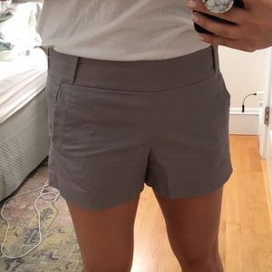 J Crew Gray Shorts 💯 Cotton
